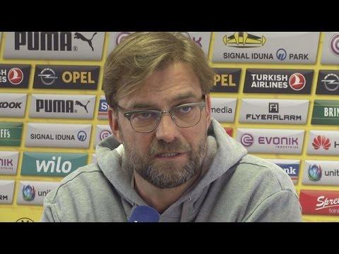 Pressekonferenz: Jürgen Klopp vor dem Pokalspiel bei Dynamo Dresden   BVB total!