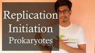 DNA replication in Prokaryotes 1 | Prokaryotic DNA replication initiation