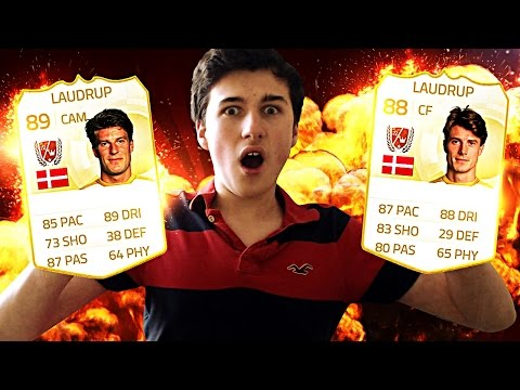 OMFGGG LEGEND BRIAN + MICHAEL LAUDRUP BROTHER PINK SLIPS!