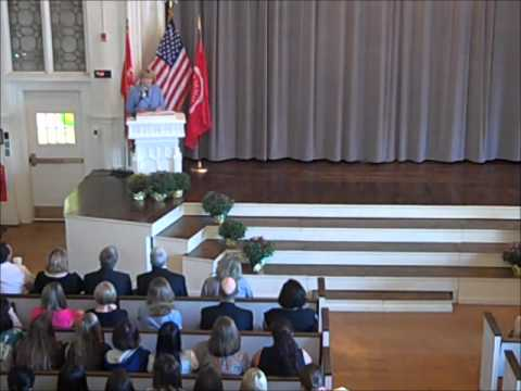 2012 Buffalo Seminary Convocation Address by Dr. Virginia S. Horvath