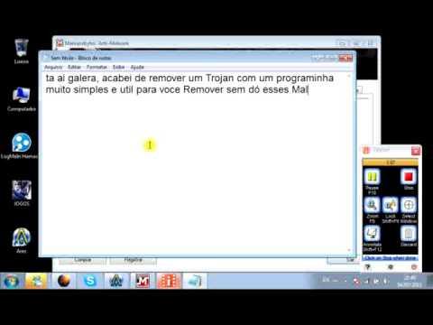 Programa para detctar Trojans, Malwares .