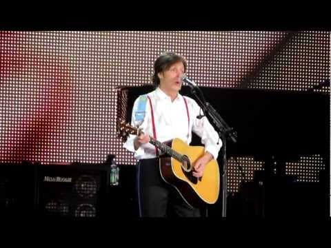 Sir Paul McCartney Eleanor Rigby