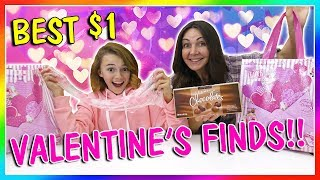 BEST VALENTINES DAY FINDS FOR A DOLLAR! | We Are The Davises