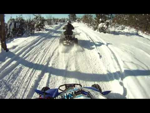 Quads in snow 2012
