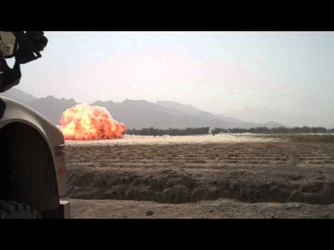 MICLIC Blowing up IED in Southern Afghanistan