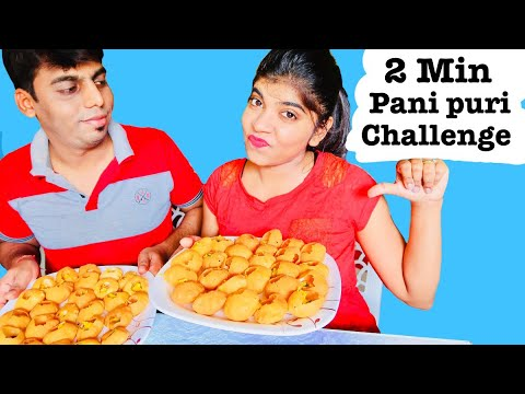 Pani Puri Challenge with Husband