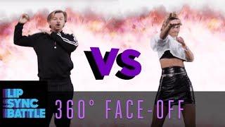 David Spade and Nina Agdal: 360° Face-Off | Lip Sync Battle