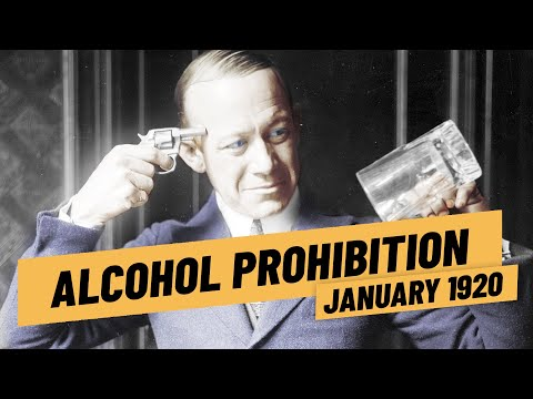 The United States Goes Dry - Alcohol Prohibition  I THE GREAT WAR