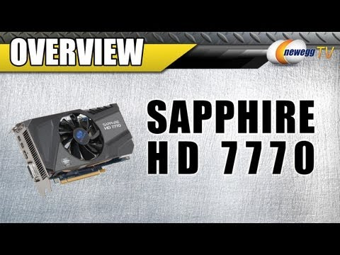 Newegg TV: SAPPHIRE AMD Radeon HD 7770 GHz Edition Overclocked Video Card
