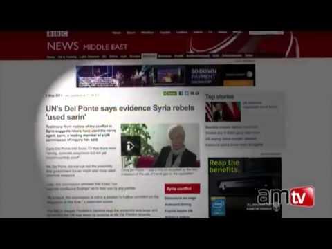 November 2013 Rebels claim chemical attack syria Saudi Arabia financed Last Days