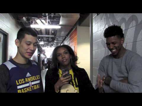 Exclusive Interview with Lakers Jeremy Lin, Nick Young, and Jordan Hill