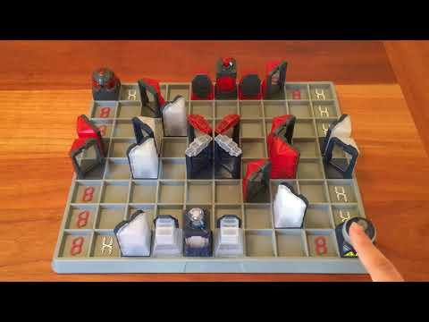 Board Game Reviews Ep #42: LASER CHESS