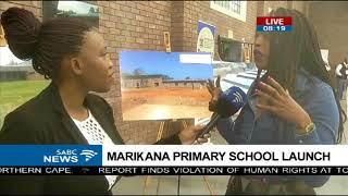 State of the art facility at Marikana Primary School