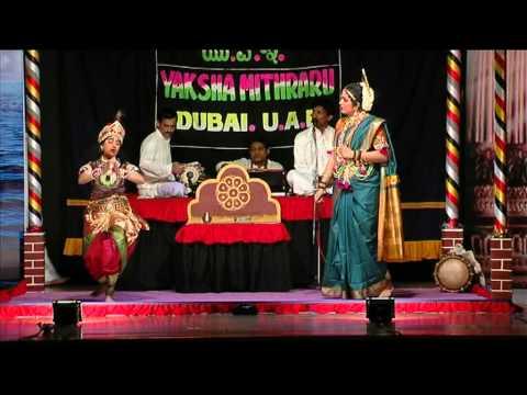 Yakshagana----smt.asha Donald Corea &baby Sharanya V Shastri...vob video