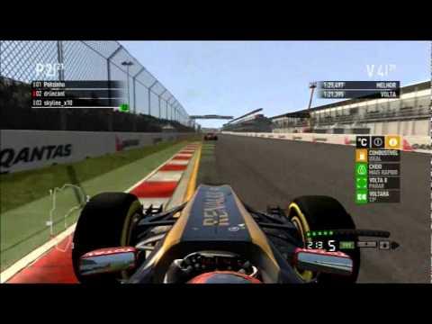 1ª Corrida Melbourne – F1 2011 codemasters – Campeonato