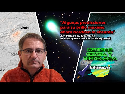 Noticias Ciencia 🚀 COMETA ATLAS ☄ C/2019 Y4 | Marte | Luna | Tierra | Dinos | Exoplanetas | T1 E7