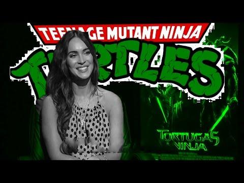 Megan Fox Y El Set De Tortugas Ninja video