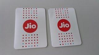 Reliance Jio 4G Sim