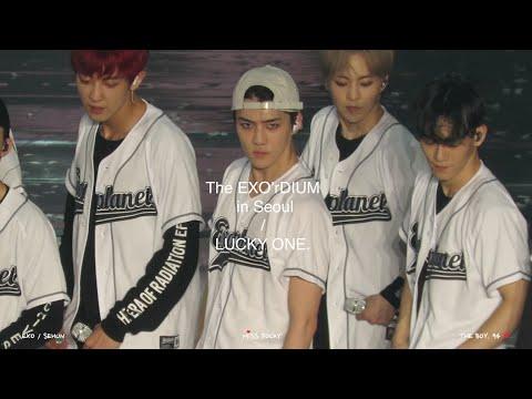 160722 The EXO'rDIUM in Seoul - Lucky One (Sehun Focus)