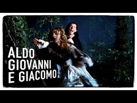 Il conte Dracula (prima parte) – Tre uomini e una gamba di Aldo Giovanni e Giacomo