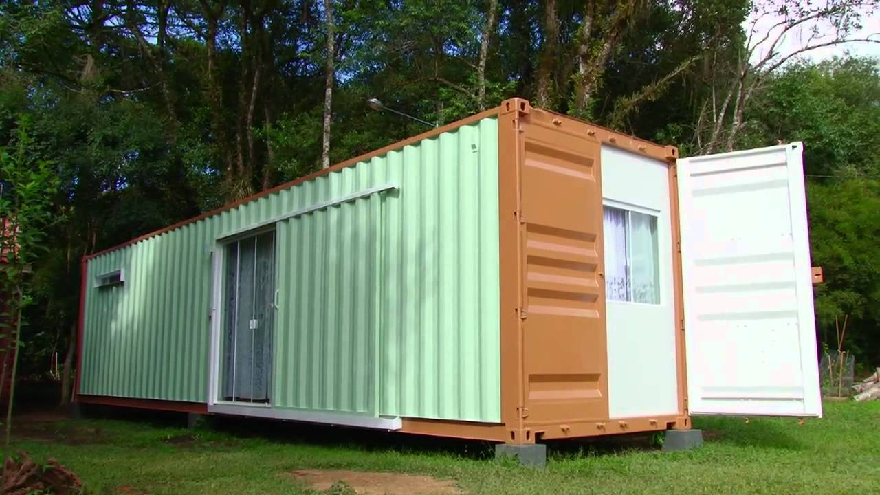 Delta containers casas modulares em containers youtube - Casas de containers ...
