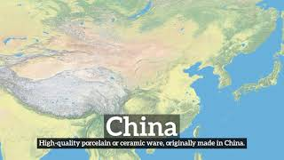 What is China? | How Does China Look? | How to Say China in English?