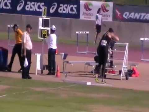 Sydney track classic 2012 valerie adams shotput 20.67m