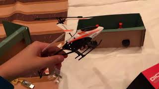 Dt-h2 hurricane Quadcopter! Unboxing!!!