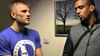 INTRODUCING ENGLISH CHAMPION LEWIS TAYLOR - 'NICK BLACKWELL IS A GOOD FIGHTER ID LOVE TO FIGHT HIM'
