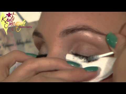 Видео как правильно снимать макияж