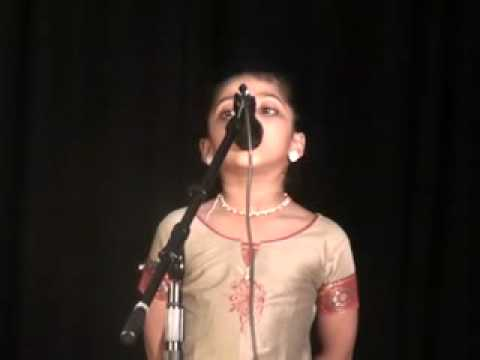 Akshita Recitation - Mambazham video