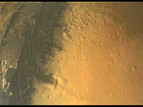 Complete Mars Curiosity Descent - Full Quality Enhanced HD 1080p Landing + Heat Shield impact