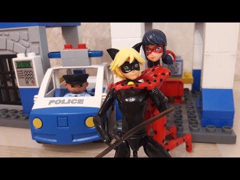 Леди баг и супер кот  Полицейский Мультик из игрушек