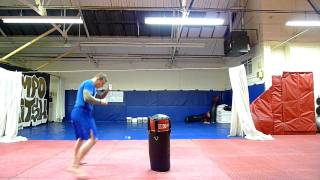 movement for striking (kicking & punching) for mma.