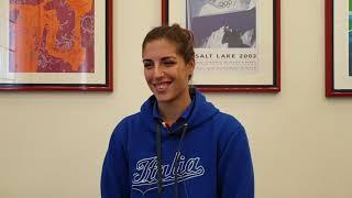Marta Gasparotto sul percorso di preparazione di Italia Softball