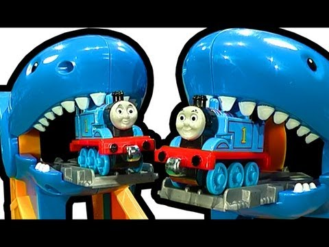 Thomas The Tank Shark Attack Exhibit Take N Play Aquarium Adventure