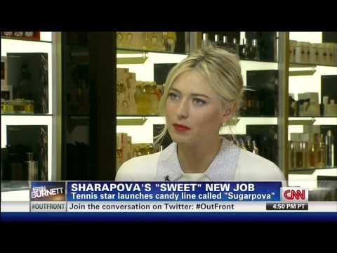 Sugarpova 2012_8_20 CNN Launch Interview