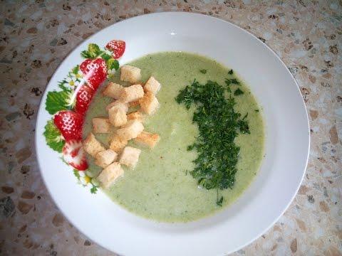 Крем-суп из брокколи! Детское питание