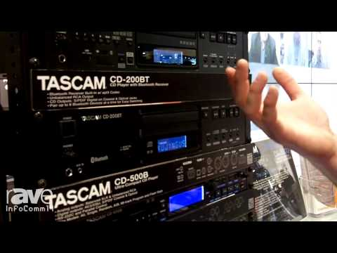 InfoComm 2014: Tascam Presents Its CD-200iL Rack-Mountable CD Player with iPod Dock
