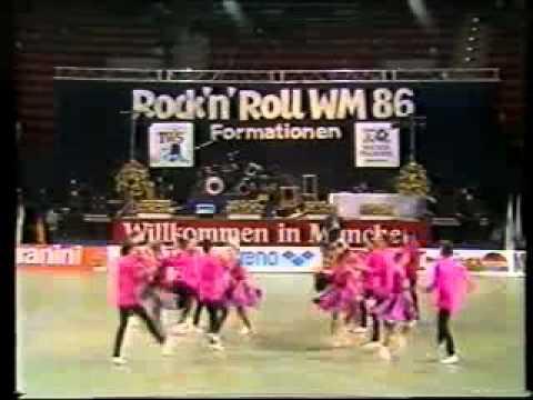 Rock'n'Roll-Zentrum TSW Wiesbaden - Weltmeisterschaft 1986