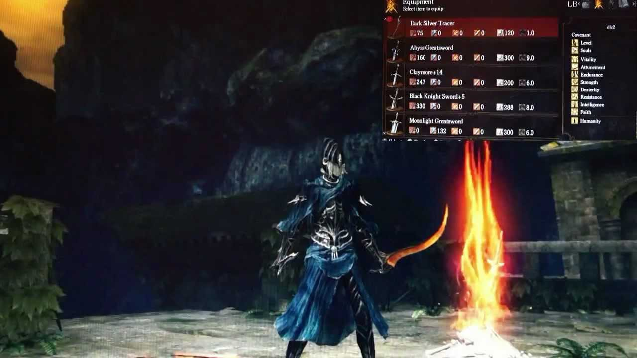 Dark Souls PC Best Of The New Weapons Armor Spells And