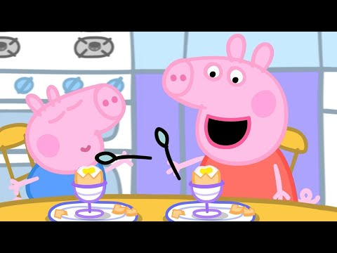 Peppa Pig Episodes in 4K   Easter Eggs with Peppa! Easter Special #PeppaPig