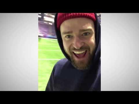 Justin Timberlake gibt Einblicke ins Stadion und sein neues Album