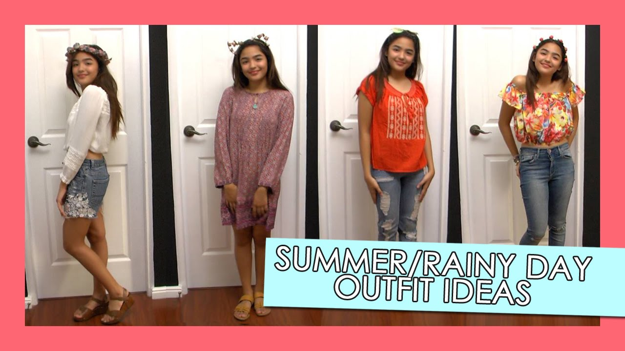Summer/Rainy Day Outfit Ideas | Andrea B.