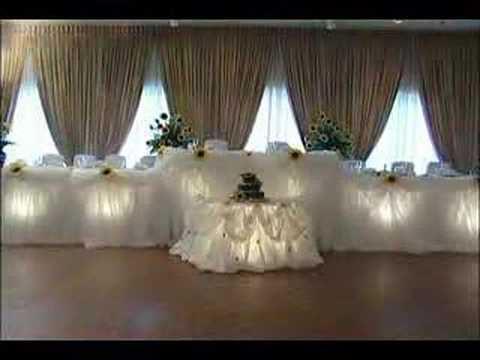 Wedding decor youtube for Art decoration schwaig