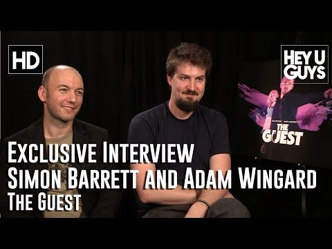 Simon Barrett And Adam Wingard Exclusive Interview - The Guest
