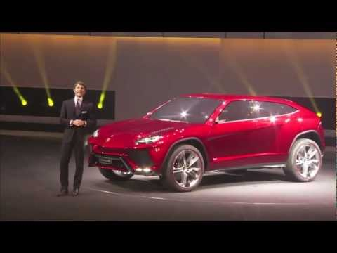 Lamborghini Urus - The SUV super athlete Unveiled at the Beijing International Auto Show