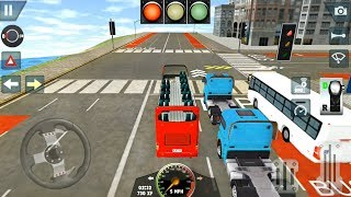 Open Top Double Decker Bus - Learning School Driving Simulator - Android Gameplay FHD