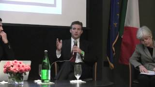 Alec Ross | Twiplomacy conference at Italian Embassy in Washington DC