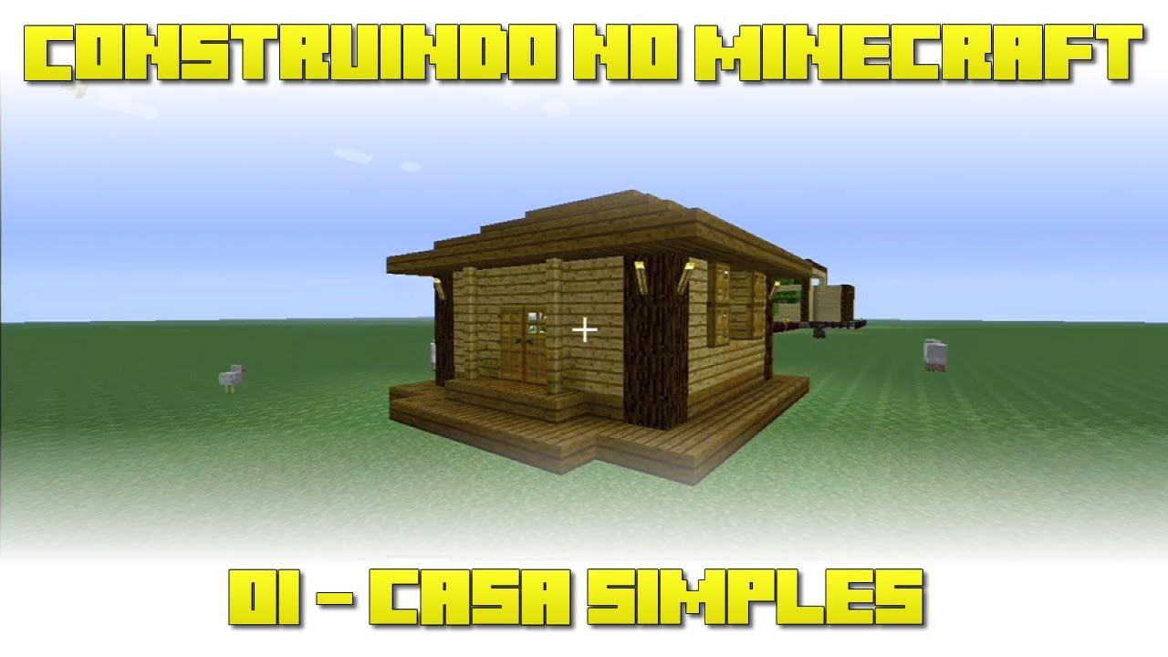 Construindo no minecraft xbox360 casa simples for Casa moderna xbox 360 minecraft
